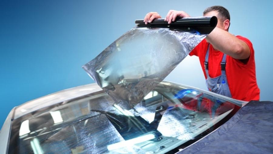 Как затонировать стекла на авто своими руками 57