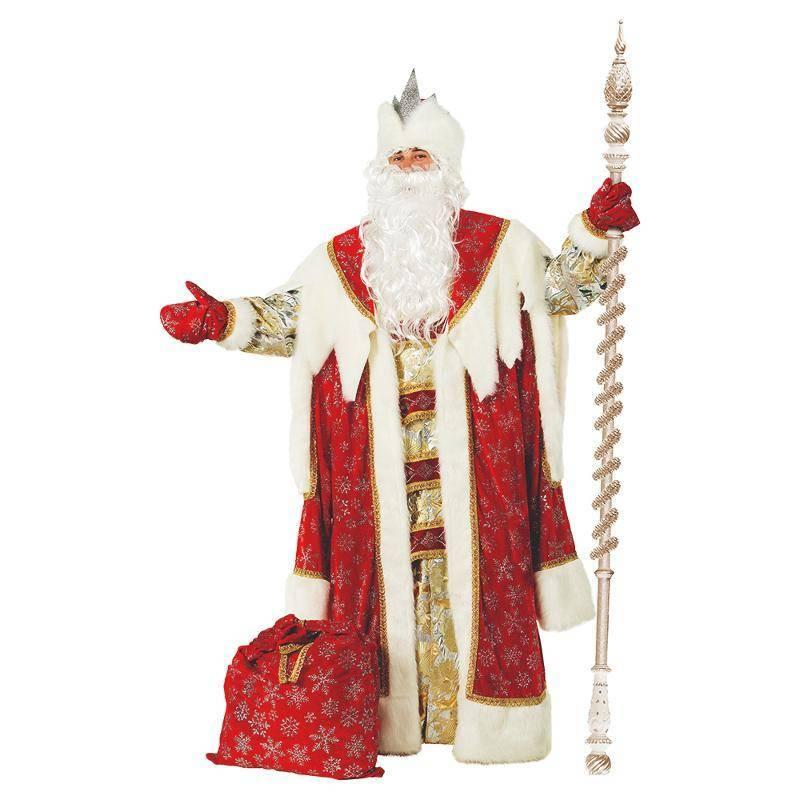 Маскарадный костюм Дед Мороз Королевский, красный Батик P189-54-56BIT(2) (P189-54-56BIT(2)) купить в Нижнем Новгороде, сравнить