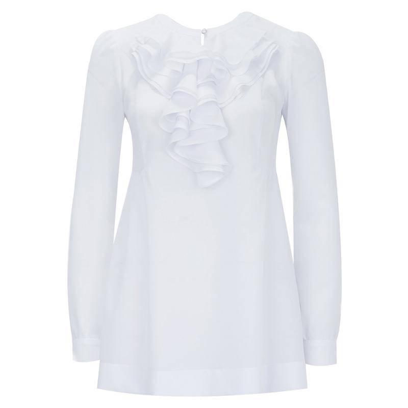 Блузка из белого шифона в нижнем новгороде